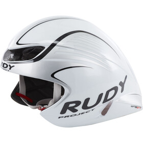 Rudy Project Wing57 Fietshelm, white/silver (shiny)